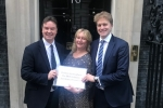 M25 resurfacing petition presented to 10 Downing Street